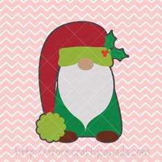 Christmas Gnomes Svg.Gnome Christmas Card Crafty Canada