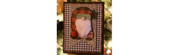 Nordic Gnome Christmas Card